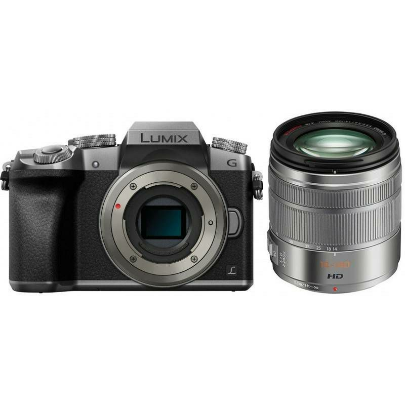 Panasonic Lumix G7 + 14-140mm f/3.5-5.6 Asph Power O.I.S. Grey 4K Mirrorless bezrcalni digitalni fotoaparat DMC-G7HEG DMC-G7 s objektivom G Vario 14-140 Micro Four Thirds Digital Camera (DMC-G7HEG-S)