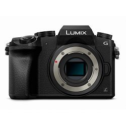 Panasonic Lumix G7 Body Black 4K Mirrorless bezrcalni digitalni fotoaparat tijelo DMC-G7EG DMC-G7 Micro Four Thirds Digital Camera (DMC-G7EG-K)