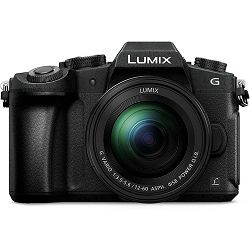 Panasonic Lumix G80 + 12-60mm f/3.5-5.6 Asph Power O.I.S. Black 4K Mirrorless bezrcalni digitalni fotoaparat DC-G80 s objektivom G Vario 12-60 Micro Four Thirds Digital Camera (DMC-G80MEG-K)