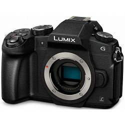 Panasonic Lumix G80 Body 4K video 30fps 5-axis WiFi (DMC-G80EG-K) Digitalni fotoaparat Mirrorless Micro Four Thirds Digital Camera