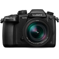 Panasonic Lumix GH5 + 12-60mm f/2.8-4 Asph Power O.I.S. Black 4K Mirrorless bezrcalni digitalni fotoaparat DC-GH5 s objektivom DG Vario Elmarit 12-60 MFT Digital Camera (DC-GH5LEG-K)