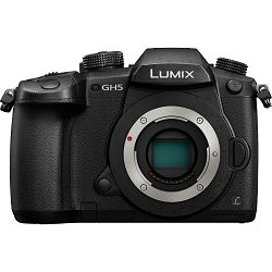 Panasonic Lumix GH5 Body 4K video 60fps 5-axis (DC-GH5EG-K) Digitalni fotoaparat Mirrorless Micro Four Thirds Digital Camera