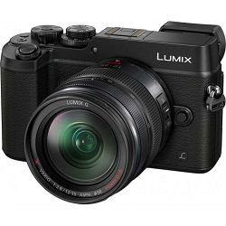 Panasonic Lumix GX8 + 12-35mm f/2.8 ASPH O.I.S. Black (DMC-GX8AEG-K) Crni Digitalni fotoaparat s objektivom Mirrorless Micro Four Thirds Digital Camera