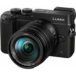 Panasonic Lumix GX8 + 14-140mm f/3.5-5.6 ASPH O.I.S. Black (DMC-GX8HEG-K) Crni Digitalni fotoaparat s objektivom Mirrorless Micro Four Thirds Digital Camera