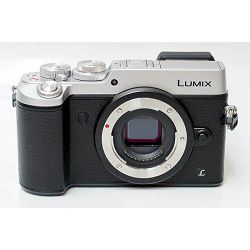 Panasonic Lumix GX8 + 14-42mm f/3.5-5.6 Asph Mega O.I.S. Silver 4K Mirrorless bezrcalni digitalni fotoaparat DC-GX8 s objektivom G Vario 14-42 Micro Four Thirds Digital Camera (DMC-GX8KEG-S)