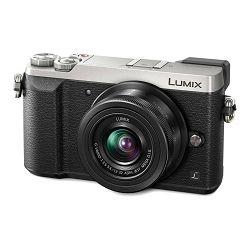 Panasonic Lumix GX80 + 12-32mm f/3.5-5.6 Asph Mega O.I.S. Silver 4K Mirrorless bezrcalni digitalni fotoaparat DC-GX80 s objektivom G Vario 12-32 Micro Four Thirds Digital Camera (DMC-GX80KEGS)