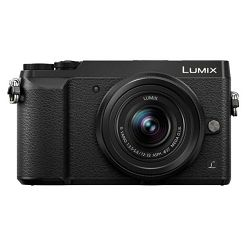 Panasonic Lumix GX80 + 12-32mm f/3.5-5.6 + 35-100mm f/4-5.6 Asph Mega O.I.S. Black 4K Mirrorless bezrcalni digitalni fotoaparat DC-GX80 s objektivima G Vario 12-32 i 35-100 (DMC-GX80WEGK)