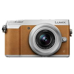 Panasonic Lumix GX80 + 12-32mm f/3.5-5.6 Asph Mega O.I.S. Brown/Silver 4K Mirrorless bezrcalni digitalni fotoaparat DMC-GX80 s objektivom G Vario 12-32 Micro Four Thirds Digital Camera (DMC-GX80KEGT)