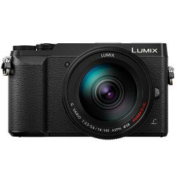 Panasonic Lumix GX80 + 14-140mm f/3.5-5.6 Asph Power O.I.S. Black 4K Mirrorless bezrcalni digitalni fotoaparat DC-GX80 s objektivom G Vario 14-140 Micro Four Thirds Digital Camera (DMC-GX80HEGK)