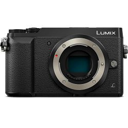 Panasonic Lumix GX80 Body Black 4K Mirrorless bezrcalni digitalni fotoaparat DMC-GX80 Micro Four Thirds Digital Camera (DMC-GX80EG-K)