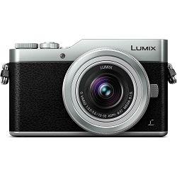 Panasonic Lumix GX800 + 12-32mm f/3.5-5.6 + 35-100mm f/4-5.6 Asph Mega O.I.S. Silver/Black 4K Mirrorless bezrcalni digitalni fotoaparat DC-GX800 s objektivima G Vario 12-32 i 35-100 MFT DC-GX800WEGS