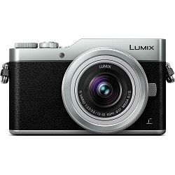 Panasonic Lumix GX800 + 12-32mm f/3.5-5.6 Asph Mega O.I.S. Black/Silver 4K Mirrorless bezrcalni digitalni fotoaparat DC-GX800 s objektivom G Vario 12-32 Micro Four Thirds Digital Camera (DC-GX800KEGS)