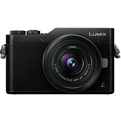 Panasonic Lumix GX800 + 12-32mm f/3.5-5.6 Asph Mega O.I.S. Black 4K Mirrorless bezrcalni digitalni fotoaparat DC-GX800 s objektivom G Vario 12-32 Micro Four Thirds Digital Camera (DC-GX800KEGK)