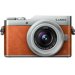 Panasonic Lumix GX800 + 12-32mm f/3.5-5.6 Asph Mega O.I.S. Orange/Silver 4K Mirrorless bezrcalni digitalni fotoaparat DC-GX800 s objektivom G Vario 12-32 Micro Four Thirds Digital Camera DC-GX800KEGD