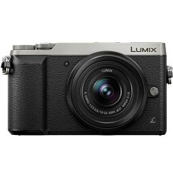 Panasonic Lumix GX80W + 12-32mm F3.5-5.6 + 35-100mm Silver srebreni digitalni fotoaparat DMC-GX80WEGS 4K 16Mpx WiFi Mirrorless Micro Four Thirds Digital Camera + lens objektiv Vario 12-32 1:3.5-5.6