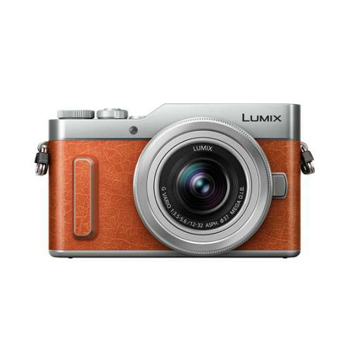Panasonic Lumix GX880 + 12-32mm f/3.5-5.6 Asph Mega O.I.S. Orange/Silver 4K Mirrorless bezrcalni digitalni fotoaparat DC-GX880 s objektivom G Vario 12-32 Micro Four Thirds Digital Camera DC-GX880KEGD