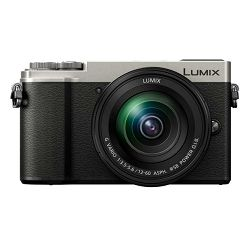 Panasonic Lumix GX9 + 12-60mm f/3.5-5.6 Asph Power O.I.S. Silver 4K Mirrorless bezrcalni digitalni fotoaparat DC-GX9 s objektivom G Vario 12-60 Micro Four Thirds Digital Camera (DC-GX9MEG-S)
