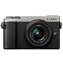 Panasonic Lumix GX9 + 14-42mm f/3.5-5.6 Asph Mega O.I.S. Silver/Black 4K Mirrorless bezrcalni digitalni fotoaparat DC-GX9 s objektivom G Vario 14-42 Micro Four Thirds Digital Camera (DC-GX9NEG-S)