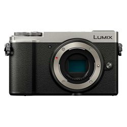 Panasonic Lumix GX9 Body Silver 4K Mirrorless bezrcalni digitalni fotoaparat tijelo DC-GX9 Micro Four Thirds Digital Camera (DC-GX9EG-S)