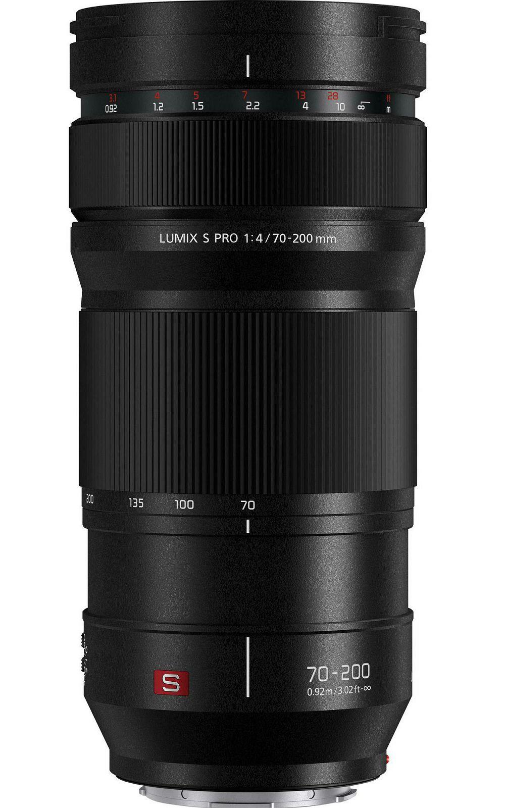 Panasonic Lumix S 70-200mm f/4 O.I.S. PRO telefoto objektiv (S-R70200E)