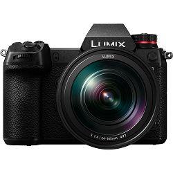 Panasonic Lumix S1 + S 24-105mm f/4 O.I.S. Macro 4K Mirrorless bezrcalni digitalni fotoaparat DC-S1 s objektivom 24-105 Full Frame Digital Camera (DC-S1ME-K) - Q4PROMO