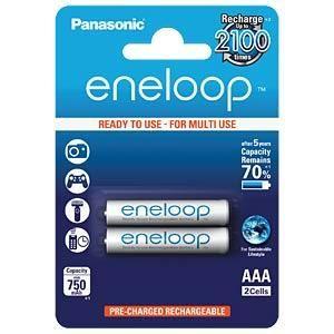 Panasonic Sanyo Eneloop 2AAA ready to use B2 BK-4MCCE2BE punjive baterije
