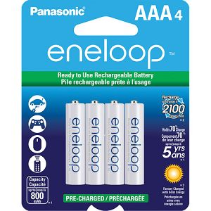 Panasonic Sanyo Eneloop 4xAAA ready to use B4 BK-4MCCE4BE punjive baterije
