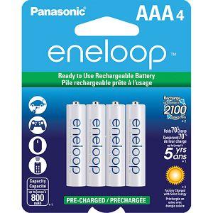 Panasonic Sanyo Eneloop 4xAAA ready to use B4 BK-4MCCE4BE punjive baterije