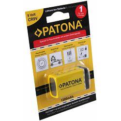 Patona 9V Block Lithium-Ion Battery 6LR61 ER9V 1200mAh baterija