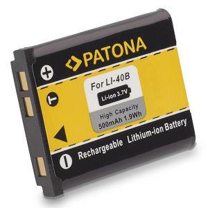 Patona Li40B Li42B Li-40B Li-42B baterija za Olympus; EN-EL10 ENEL10 Nikon; Pentax D-LI63, Pentax DLI63, XS70