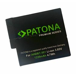 Patona AABAT-001 1250mAh 3.85V 4.8Wh baterija za GoPro HERO5 AABAT-001, AHDBT-501, AABAT-00 AHDBT-5 Black Edition Lithium-Ion Battery Pack