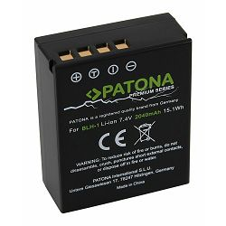 Patona baterija za Olympus BLH-1 Premium 2040mAh 7.4V 14.9Wh BLH1 OM-D EM-1 EM-1 Mark 2 EM-1 Mark II