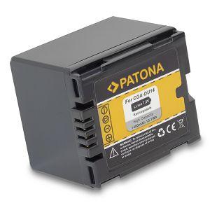 Patona baterija za Panasonic 1400mAh CGA-DU14 NV-GS250 NV-GS150 NV-GS140 NV-GS75