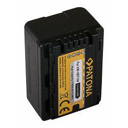 Patona baterija za Panasonic VW-VBT190 1780mAh 3.6V 6.4Wh HC-VX870 VX878 VX989 VXF999 SDR H100, H101, S71, T55, T70, T71, T76 HDC H100, HS60, HS80, SD80, SD90, SDX1, T50, T55, T70, TM80, TM90
