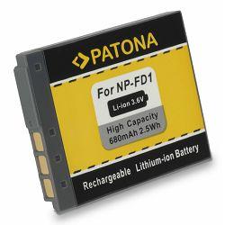 Patona baterija za Sony NP-BD1 NP-FD1 680mah 3.6Wh 2.4Wh DSC-T77, DSC-T90, DSC-T300, DSC-T500, DSC-TX1, DSC-T700, DSC-T2, DSC-T70, DSC-T75, DSC-T200