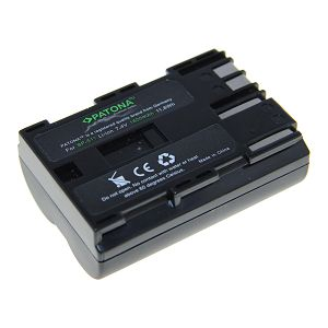 Patona BP-511 Premium 1600mAh 11.8Wh 7.4V baterija za Canon EOS 300D, 20D, 20Da, 30D, 40D, 50D, 5D, D30, D60, Digital Rebel, Optura Xi, PowerShot G1, G2, G3, G5, G6, Pro 1, Pro 90 IS
