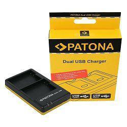 Patona EN-EL15 Dual Quick-Charger punjač za Nikon ENEL15 D7200, D7100, D610, D750, D810, D800 + Micro USB kabel