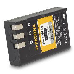 Patona EN-EL9 1000 mAh 7.4 Wh 7.4V baterija za Nikon D40, D40x, D60, D5000 ENEL9