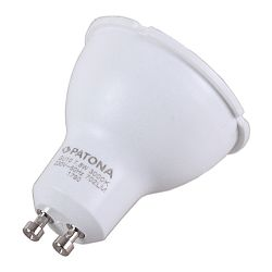 Patona LED GU10 SMD 2835 7.8W 50x55mm 702LM 3000K 230V/50Hz A+ 100 warmwhite milkcover plastic body