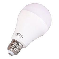 Patona LED E27 SMD 2835 12W 116x60mm 1015lm 3000K 230V/50-60Hz A+ 100 warmwhite milkcover aluminium body
