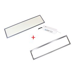 Patona LED panel 300x1200x9 frame trasnformer 36W 3300lm 4000-4500K natur white AC 200-240V Frame Transformer complet set 30x120x0,9cm
