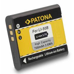 Patona Li-50B 700mAh baterija za Olympus TG-2 TG-610 TG-620 TG-620 TG-630 TG-810 TG-820 TG830 VG-170 VH-410 TG-830 D-715 VR-340 VR-350 VR-360 XZ-1 XZ-10 Traveller SH21 SH-21 SH-25MR SZ-31MR