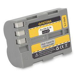 Patona EN-EL3e 1300mAh 7.4V 9.6Wh baterija za Nikon D90, D80, D70, D50, D700, D300, D200