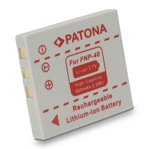 Patona NP-40 za Fuji Film Finepix A700, F455, F460, F470, F610, F650, F700, F710, F810