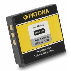 Patona NP-50 750mAh 2.8Wh 3.7V baterija za FujiFilm Fuji FinePix F50fd, 100fd, NP40, D-li68, Kodak Easyshare M1033, V1073, V1233, V1253, V1273
