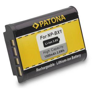 Patona NP-BX1 baterija 1000mAh za Sony DSC RX100 RX1r HX50V HX300 WX300