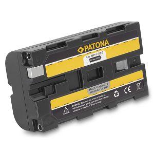 Patona NP-F550 1800mAh 7.2V baterija za Sony, Atomos, Aputure s NP-Fxxx prihvatom NP-F330, NP-F530, NP-F550, NP-F730, NP-F750, NP-F770, NP-F750SP, NP-F930, NP-F950, NP-F960, NP-F970, NP-F975, NP-F990