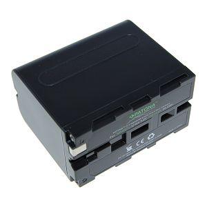 Patona NP-F970 Premium 7800mAh 7.2V baterija za Sony, Atomos, Aputure s NP-Fxxx prihvatom NP-F530, NP-F550, NP-F730, NP-F750, NP-F770, NP-F930, NP-F950, NP-F960, NP-F970, NP-F975, NP-F990 Lithium-Ion