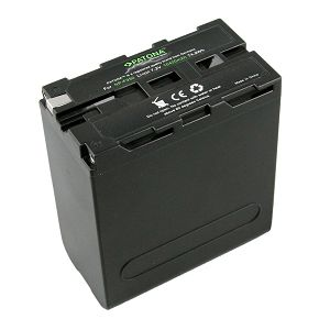 Patona NP-F990 Premium baterija 10400mAh 7.2V 74,9Wh za Sony HVR-Z1C HVR-V1C FX7E NEX-FS100 Aputure NP-530, NP-730, NP-930, NP-F330, NP-F530, NP-F550, NP-F730, NP-F750, NP-F750SP, NP-F930