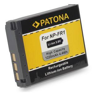 Patona NP-FR1 baterija 1220 mAh 4.4 Wh 3.6V za Sony DSC-P100, P200, P150, DSC-F88, DSC-G1, DSC-P100, DSC-P120, DSC-P150, DSC-P200, DSC-T30, DSC-T50, DSC-V3 Li-Ion battery pack